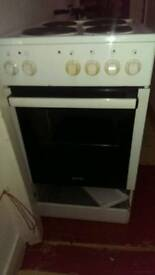 Gorenje four ring electric hob and oven
