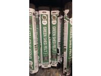 Roofing Felt Green Mineral Cheap Temporary Cover Rose Roofing Roof Shed Kennel 10 m = £ 12