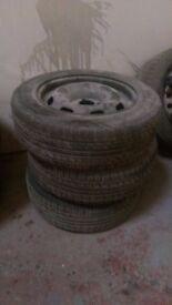 PEUGEOT 207 steel wheel rim x 3 185/65 R 15