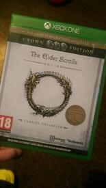 The Elder Scrolls Online crown edition Xbox one