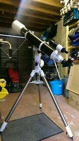 Sky watcher evostar 120 telescope with eq5 mount