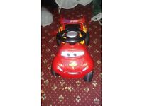 Lightning McQueen quad car