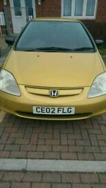 Honda civic open to sensible offers