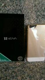 I phone 6 cover NEW gold & white
