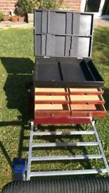 Boss Box.In good condition with lots of spares.