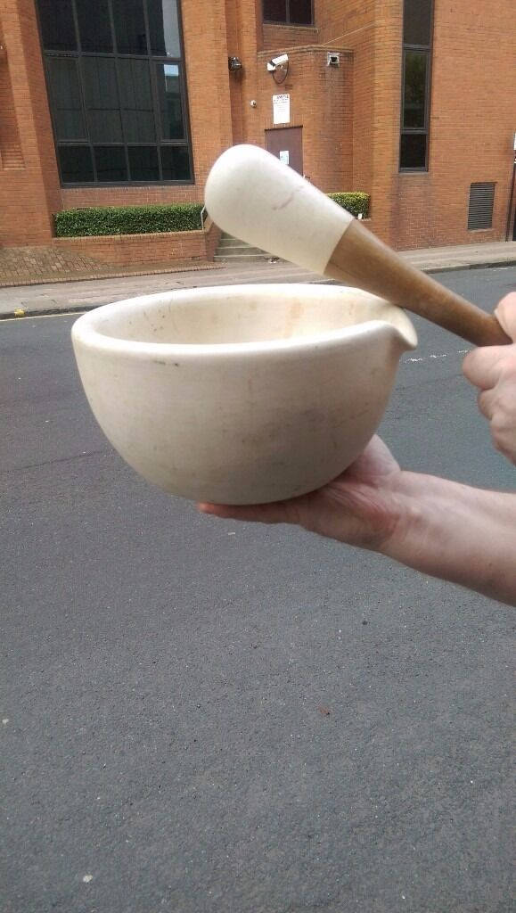 Old larg pestle and mortar for sale