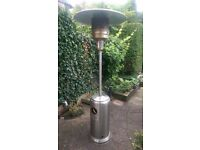Garden patio heater stainless steel