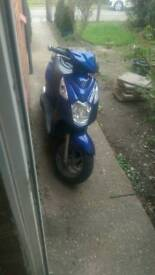 Sym symply 2 125. Blue.
