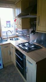 Hawick 1 bedroom fully furnished ground floor flat with gardens