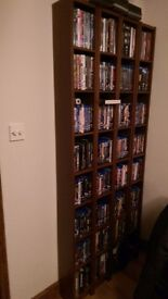 4 DVD/Blu-ray wooden towers, all in good condition - £5 or each or £15 or all 4