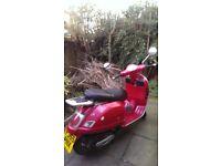 PIAGGIO VESPA GT 125cc red