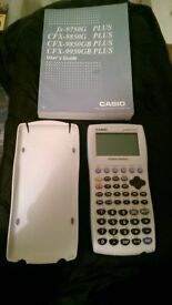 CASIO fx-9750G Plus Advanced Calculator (with User's Guide)