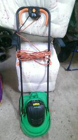 Electric hover mower & Garden vac