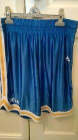 UCLA Bruins College Light Blue Durasheen Men's shorts - Adidas Medium