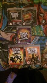 Guitar Hero Games PS3