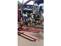 Ford transit 2.5 di engine + gearbox