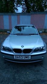 BMW 318i SALOON 2L FOR SALE, VERY WELL LOOKED AFTER ,TAX AND MOT, £1100 ONO