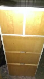 Wooden Bedroom Dresser/Chest of Drawers: 5 Drawers