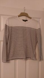 New Look Teen Stripey top age 12-13. Worn once.