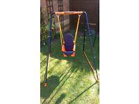 Hedstrom fast fold toddler swing