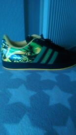 Rare Adidas Kingston Jamaica trainers