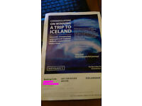 800 Euro Icelandair Gift Certificate - Flights only or package holiday