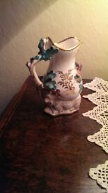 Antique Goat and Bee jug