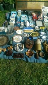 Huge joblot of collectibles and curious over sixty years of collecting