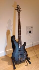 Yamaha TRBX504 bass guitar GREAT condition + extras (bag, foot&guitar stands, neck strap, cable)