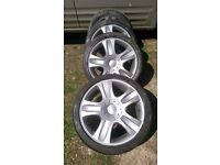 """Ford mondeo zetec s alloy wheels 18"""" also fit transit connect ford focus etc"""