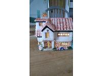 Vintage Derek Fowler Potter Night Light - The Watermill