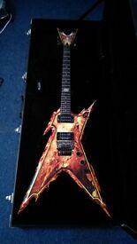 Dean Razorback Explosion Guitar For Sale