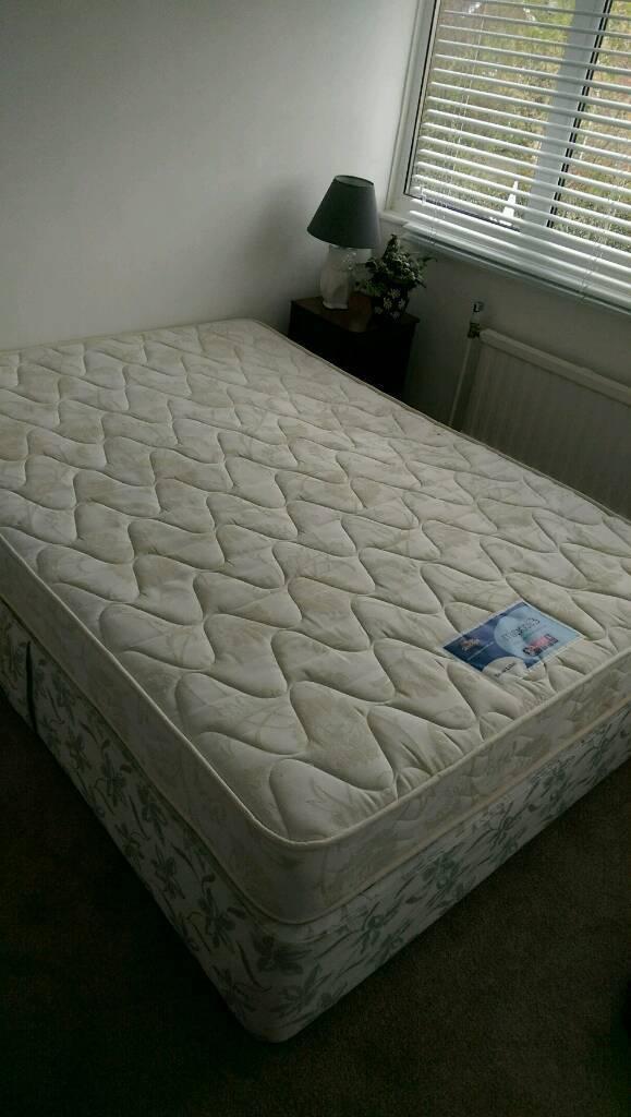 Double Bed Divan Base Slumberland Mattress