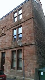 1 Bed Furnished Flat for rent, Central Falkirk, suit professional