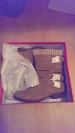 New warm pair of boots!