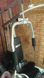 Home gym and weight equipment