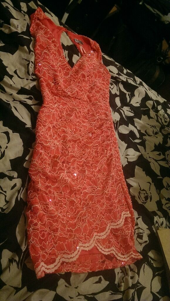 Beautiful Lipsy Dress size S NEWin Redfield, BristolGumtree - New without tags (tried on once), size small, just above the knee. Beautiful pink Lipsy dress £15