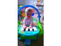 Fisher Price play and kick activity mat