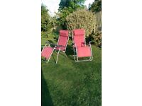 Garden or camping chairs