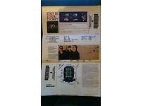 U2 seated Ticket Sunday 9th July Twickenham *Face Value*