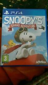 Snoopy ps4 game