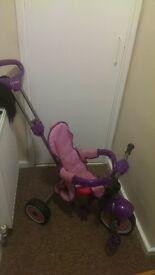 Girls purple trike