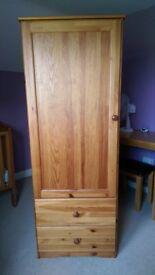 Single Wardobe, ideal for a nursery or childrens room!