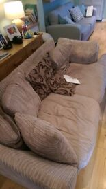 L shaped sofa with Sofabed section