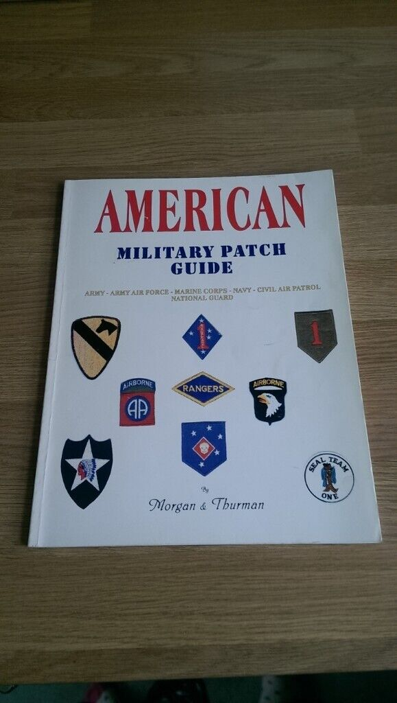 US Military Guide to Patches book | in St George, Bristol | Gumtree