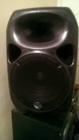 Pair of Wharfdale titan 15 Pa speakers