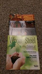 Taylor Guitar's Wood&Steel magazine