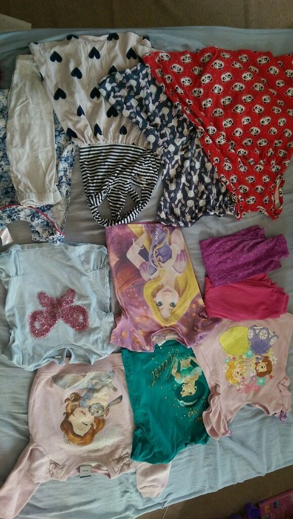 disney princess etc girls bundle 2 3yearsin Dereham, NorfolkGumtree - Girls bunfle inuding next, disney store All age 2 3 good or very good condition. Running out of space so have pit together for quick sale. £8 Collection from near dinosaur park a47
