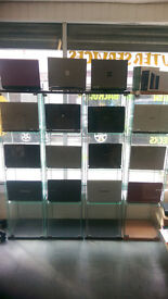 WIDE RANGE OF REFURBISHED/2ND USER LAPTOPS FROM £34.99 + , VARIOUS COLOURS , STYLES AND SPECS ....