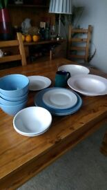 Assorted plates and dishes FREE